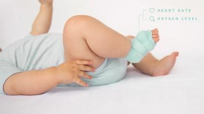 Eine Bluetooth-Socke soll der Gesundheit des Babys helfen.