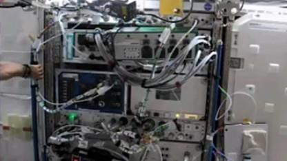 Kein Raumschiff aus dem Film Alien, sondern HPEs Spaceborne Computer in der ISS