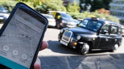Uber droht in London das Aus.