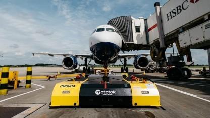 Mototok im Einsatz: Ladestationen an allen BA-Gates