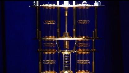 In Kooperation mit Bluefors entsteht ein Quantencomputer.