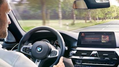 Alexa im BMW