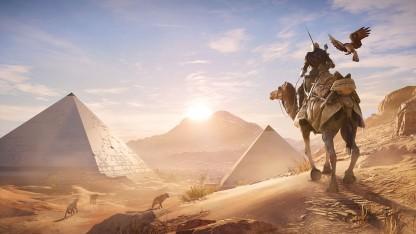 Assassin's Creed Origins soll per Update später zu Entdeckungstouren einladen.
