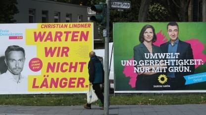 Sollen sich schon in der Realität getroffen haben: Die Spitzenkandidaten von FDP und Grünen.