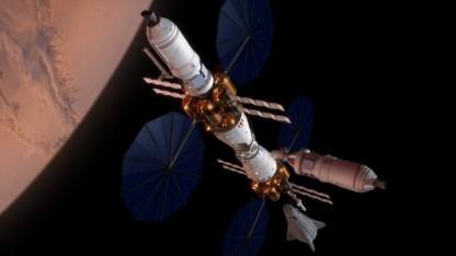 Das Mars Base Camp basiert auf der Orion-Raumkapsel.