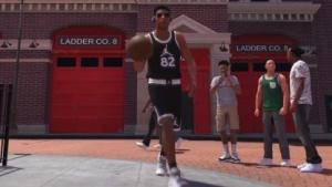 Unterwegs in der Nachbarschaft von NBA 2K18.