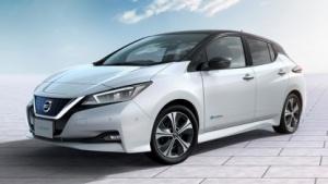Elektroauto Nissan Leaf 2018: sechs neue Elektro- und Hybridmodelle 2018 und 2019