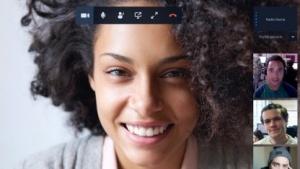 Stride integriert auch einen Gruppen-Videochat.