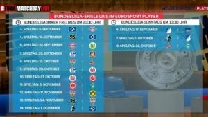 Eurosport zeigt freitags Fußball - bislang aber meist nur Teile der Partien.