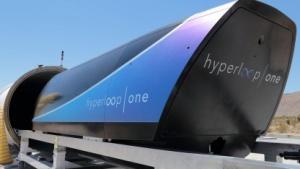 Hyperloop-Kapsel beim Test in Nevada (Symbolbild): Das deutsche Konzept schied in der letzten Runde aus.