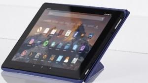 Amazon steht entgegen dem Trend mit seinen Fire Tablets gut da.