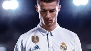 Christian Ronaldo auf der Fifa-18-Verpackung