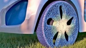 Schwammförmiger Reifen