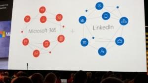LinkedIn und Microsoft 365 werden mehr verknüpft.