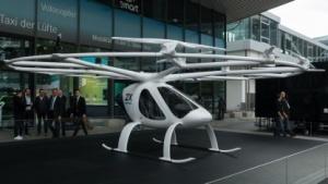 Volocopter X2 (auf der IAA): Automobil ohne Räder