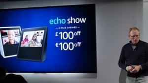 Echo Show hat eine Kamera und ein Display.