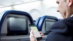 Kostenloses Messaging an Bord von Delta-Flügen