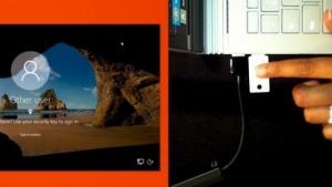 Microsoft zeigt die Windows-Authentifizierung per USB-Stick.