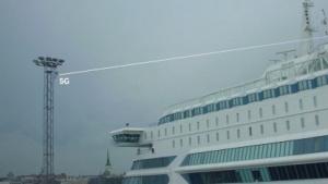 WLAN per 5G auf Kreuzfahrtschiff
