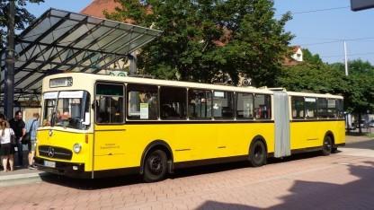 Historischer Bus der SSB (Symbolbild): Das Konzept basiert auf Technik für autonome Fahrzeuge.