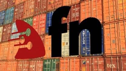 Fn erfordert die Containersoftware Docker.