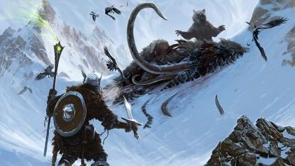 Artwork des Survival Mode für Skyrim