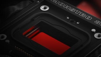 Red Monstro Mittelformat Sensor Mit 8k Auflösung Für Kinofilme