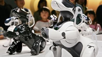 Sonys Roboterhund Aibo: tollt herum und steuert Hausgeräte per Sprachbefehl