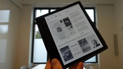 Amazons neuer Kindle Oasis