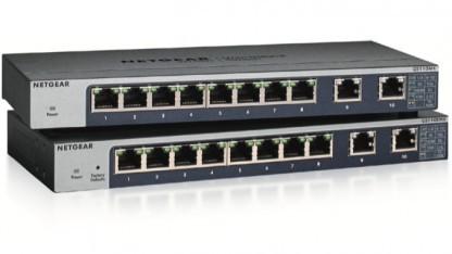 Kleine Switches mit Multigigabit-Uplink.