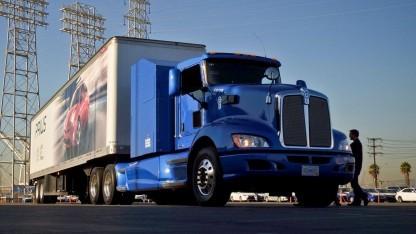 Brennstoffzellen-Truck Project Portal: zwei Brennstoffzellenstacks des Toyota Mirai