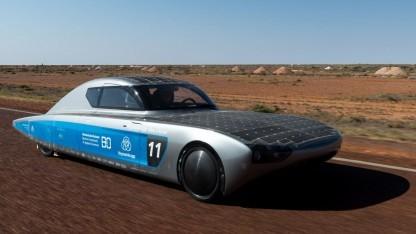 Solarauto Blue Cruiser: Der Preis für das schönste Auto soll wieder nach Bochum.