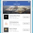 Soziales Netzwerk: Facebook ermöglicht Essensbestellungen