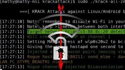 Ein Sicherheitsforscher hat Angriffe auf WPA 2 demonstriert.
