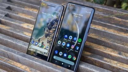 Googles Pixel-2-Smartphones sind mit dabei.