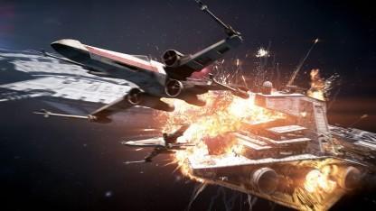Artwork des EA-Actionspiels Star Wars Battlefront 2.