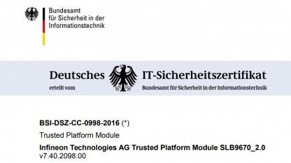 Was kann man sich von so einem deutschen IT-Sicherheitszertifikat eigentlich versprechen? Offenbar nicht sehr viel.