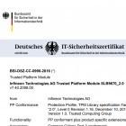 Infineon: BSI zertifiziert unsichere Verschlüsselung