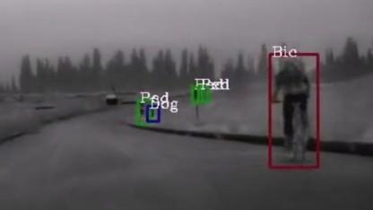 Bilder der FIR-Kamera: Genug Zeit, um zu reagieren