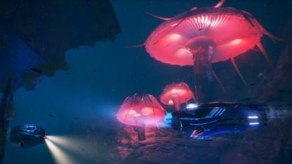 Aquanox Deep Descent schickt Spieler in die Tiefen der Meere.