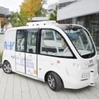 Fraport: Autonomer Bus im dichten Verkehr auf dem Flughafen