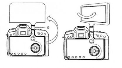 Canon-Patent für riesiges DSLR-Display
