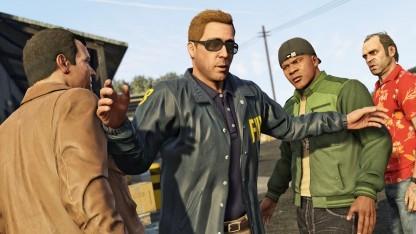 Szene aus der Kampagne von GTA 5
