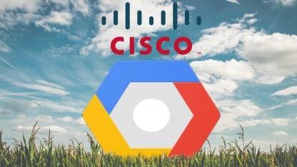Cisco und Google kooperieren für ein gemeinsames Cloud-Produkt.