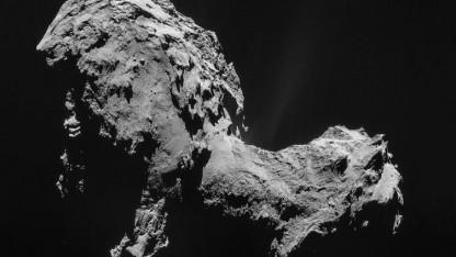 Alle bekannten Kometen wie 67P/Churyumov-Gerasimenko hier umfliegen die Sonne. C/2017 U1 kehrt wohl nie wieder zurück.