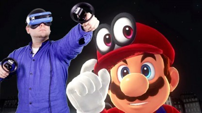 Wir haben den Hut auf - mit Mixed Reality und Super Mario Odyssey.
