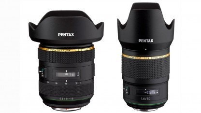 HD Pentax-DA 11-18mm F2.8 und HD Pentax-D FA 50mm F1.4 SDM AW
