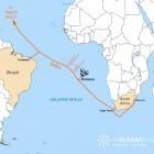 SAEx: Internet-Seekabel für Südatlantikinsel St. Helena