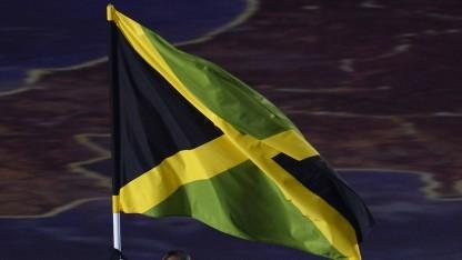 Die Flagge von Jamaika.