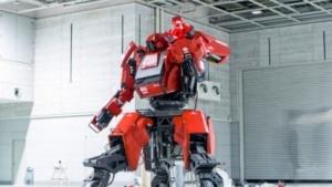 Kampfroboter Kuratas: angetrieben von einem Dieselmotor